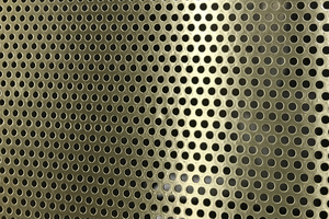 Clark Perforating Company provides brass perforated metal sheet and coil in large and small orders.