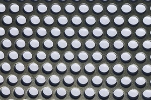 Perforated Cold Rolled Steel Sheet