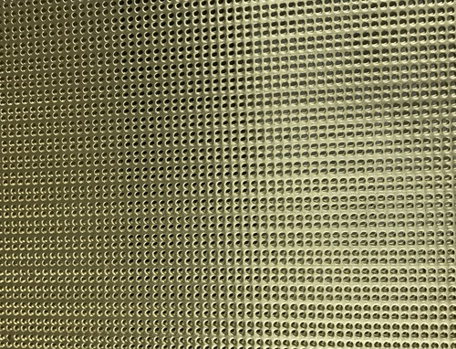 Straight Perforations - Perforated Metal Panels