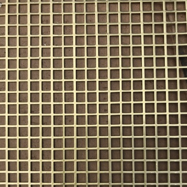 Perforated Metal With Square Holes Up To 27 Inches Wide Straight Pattern