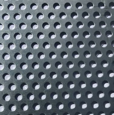 Perforated Metals With Round Holes Up To 36 Inches Wide Straight